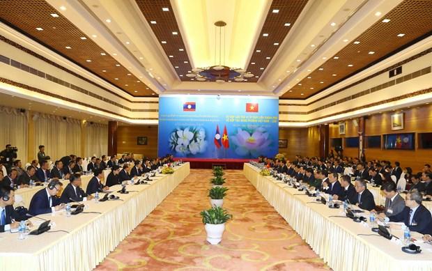 越老政府间合作委员会第41次会议在河内召开 hinh anh 1