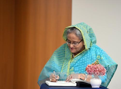 阮春福就谢赫·哈西娜再次当选孟加拉总理致贺电 hinh anh 1