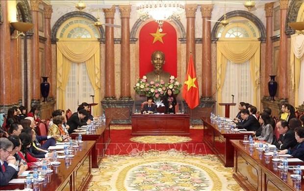 国内外赞助商为越南儿童保护工作作出积极贡献 hinh anh 1
