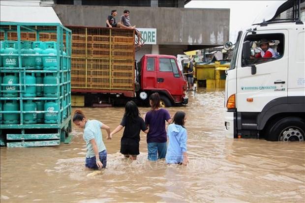 菲律宾暴雨和山体滑坡灾害造成死亡人数提升至126人 hinh anh 1