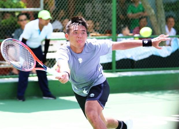 2019年越南男网公开赛:李黄南击败位居世界第370的强劲对手 hinh anh 1
