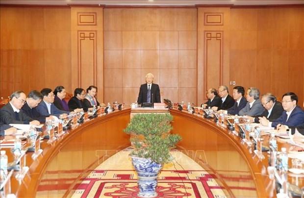 越南人民军全军各级党委和指挥机关坚持遵守党的领导 hinh anh 1