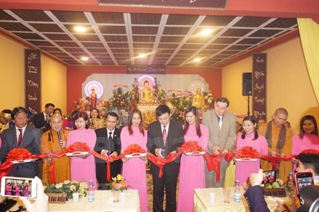 越南在捷克首个佛教文化中心落成 hinh anh 1