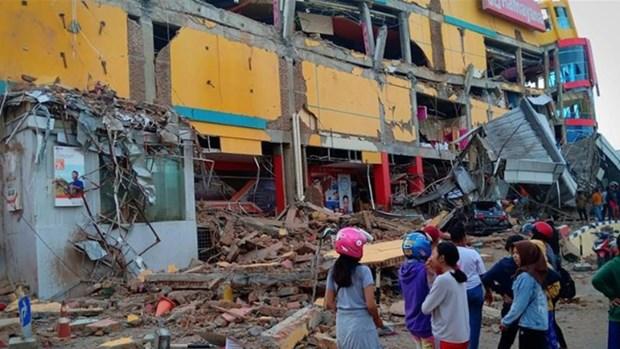 菲律宾南部发生5.4级地震 hinh anh 1