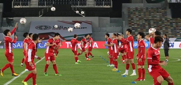 ASIAN CUP 2019:越南足球队充满自信迎战伊拉克队 hinh anh 1