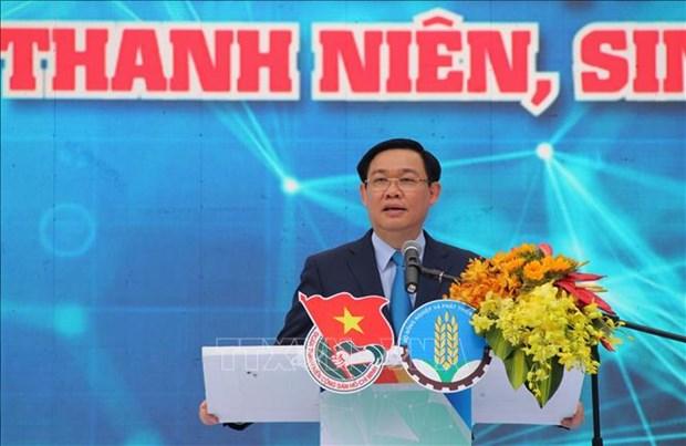 政府副总理王廷惠:加大对青年大学生创业的宣传力度 hinh anh 1
