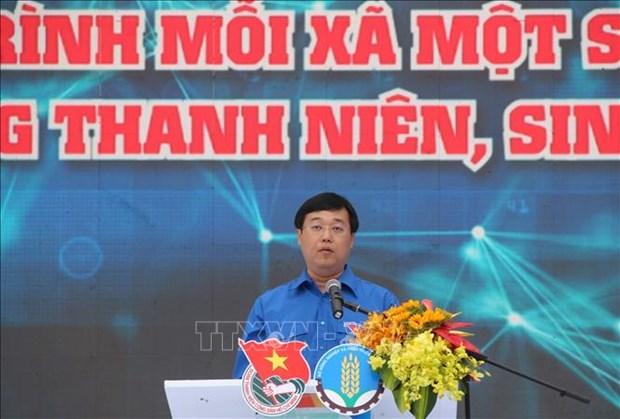 政府副总理王廷惠:加大对青年大学生创业的宣传力度 hinh anh 2