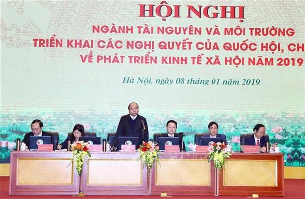 政府总理阮春福:自然资源与环境打下基础 实现突破 hinh anh 1