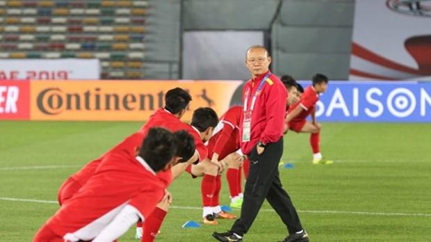ASIAN CUP 2019:越南足球队充满自信迎战伊拉克队 hinh anh 2