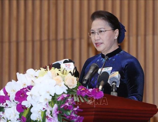 国会主席阮氏金银:检查部门应加强反腐倡廉力度 hinh anh 2