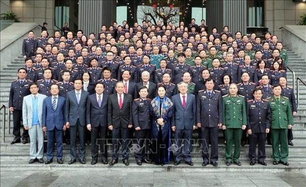 国会主席阮氏金银:检查部门应加强反腐倡廉力度 hinh anh 3