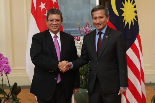 新加坡和马来西亚同意采取措施缓解领空与领海纠纷 hinh anh 1