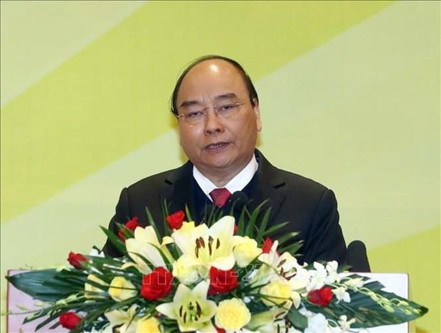 阮春福:银行在考虑经营效益的同时要承担起帮助人民的责任 hinh anh 2
