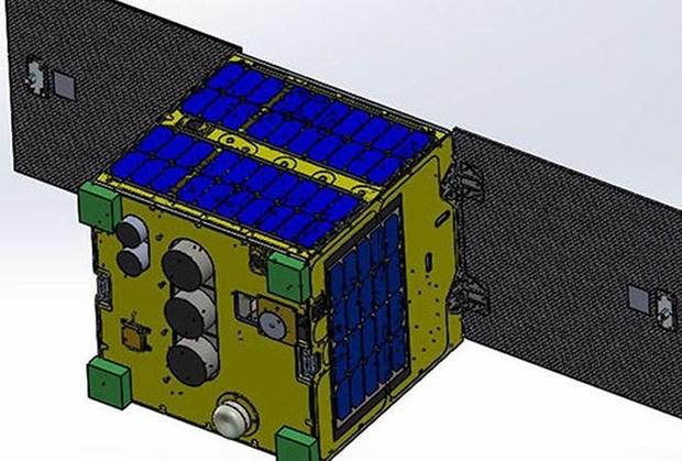 """越南研制的""""微龙""""超小型卫星将于1月17日发射升空 hinh anh 1"""