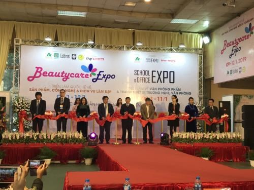 2019年国际美容展览会在河内正式开幕 hinh anh 1