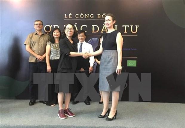 美国投资基金会对越南有机食品公司进行投资 hinh anh 1
