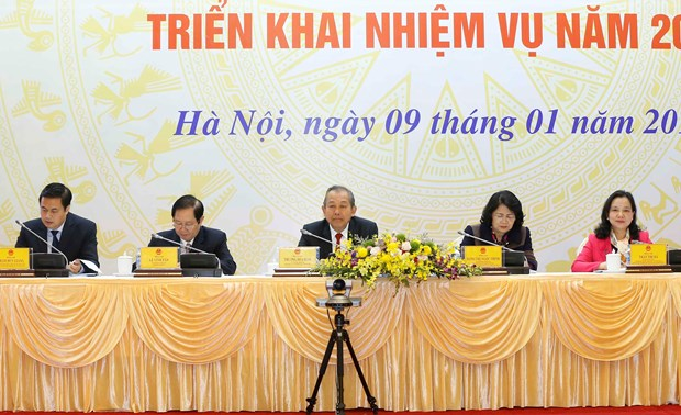 政府副总理张和平要求做到精准奖励 hinh anh 1