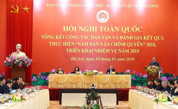 越南政府总理阮春福:群众工作必须瞄准提高人民精神和物质生活水平的目标 hinh anh 2
