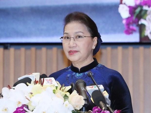 越南国会主席阮氏金银将出席亚太议会论坛第27届年会 hinh anh 1