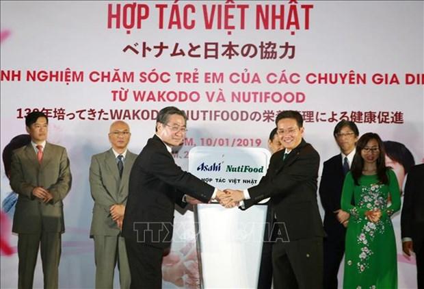 日本著名儿童营养品牌即将进军越南 hinh anh 1
