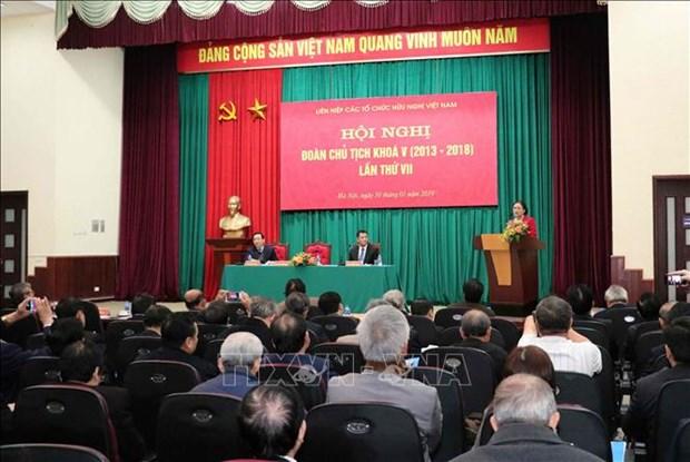 越南友好组织联合会为民间外交工作作出积极贡献 hinh anh 2