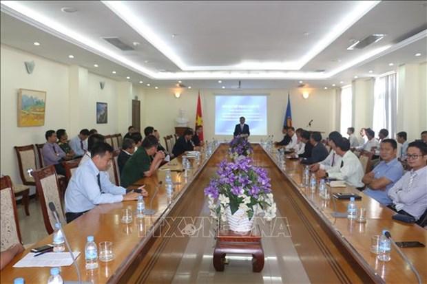 柬埔寨领导人会见越共中央检查委员会工作代表团 hinh anh 2