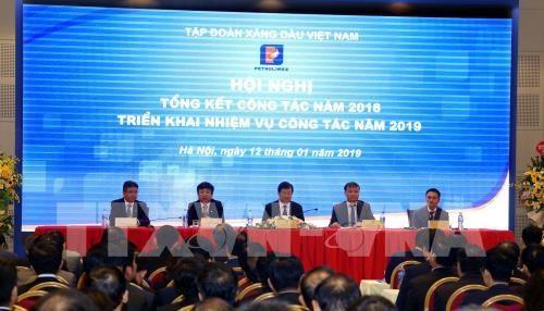 郑廷勇副总理:越南石油集团应大力提高竞争力和石油质量 hinh anh 1