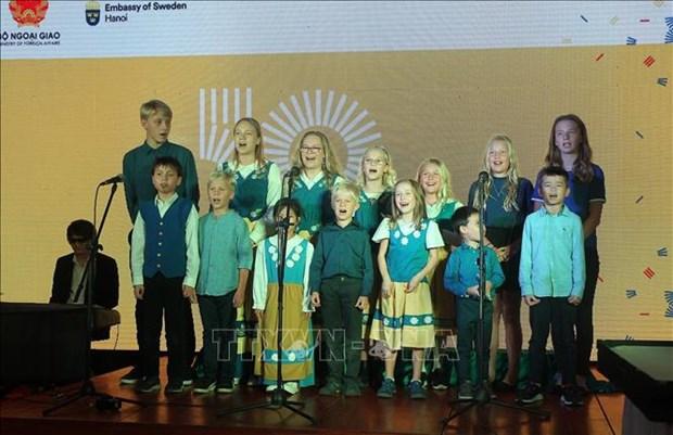 越南和瑞典建交50周年纪念活动在河内举行 hinh anh 3