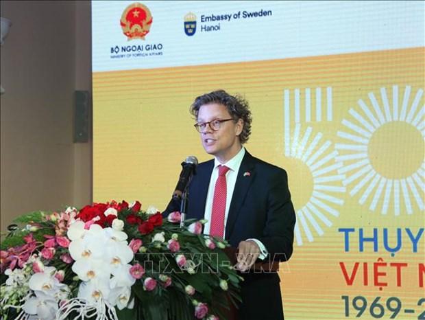 越南和瑞典建交50周年纪念活动在河内举行 hinh anh 2