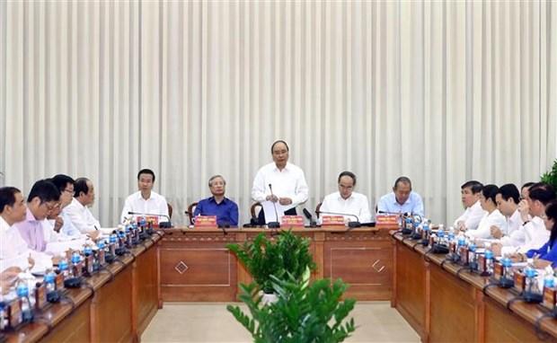 阮春福要求胡志明市继续以科技与创新为出路 hinh anh 1