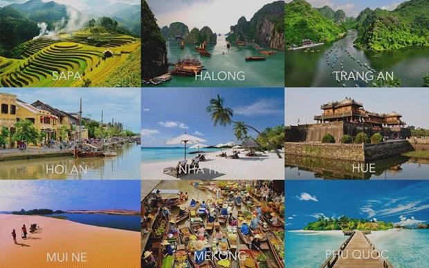 2018年越南旅游业成绩斐然 hinh anh 1