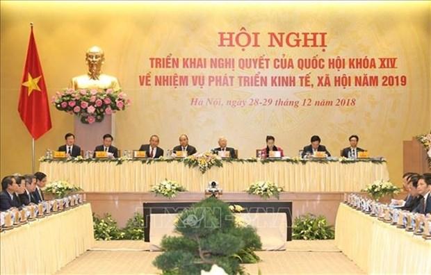 2019年——越南政府的突破之年 hinh anh 1