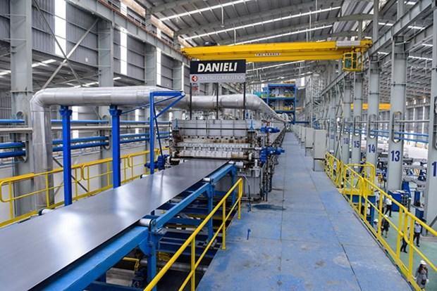 越南莲花集团对美国出口1.7万吨钢板 hinh anh 1