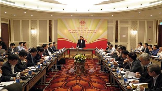 越南政府副总理王廷惠:创造透明的信贷货币市场 hinh anh 1