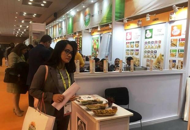 越南企业参加2019年印度国际饮食博览会 hinh anh 1