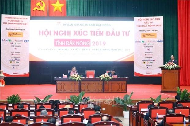 越南政府总理阮春福:得农省应加大对农业、旅游和采矿的投资 hinh anh 1