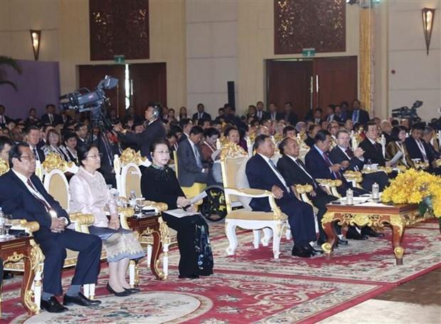 越南国会主席阮氏金银在APPF-27上发表讲话 hinh anh 2