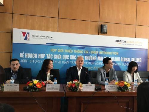 越南工贸部公布与亚马逊合作的计划 hinh anh 1