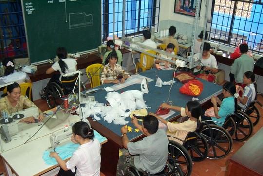美国国际开发署资助承天顺化省残疾人扶助项目 hinh anh 1
