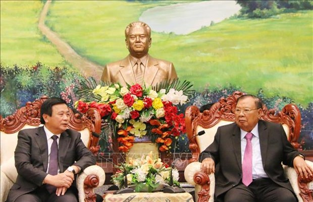 本扬·沃拉吉高度评价胡志明国家政治学院与老挝政治行政学院的合作成果 hinh anh 1