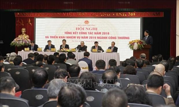 阮春福:工贸部门需进一步革新 力争超额完成目标 hinh anh 2