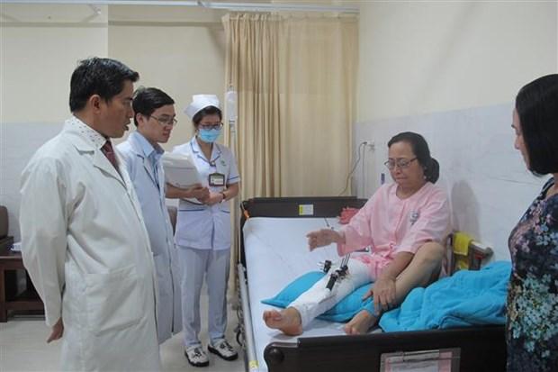 越南游客在埃及遭袭击事件:最后三名伤者将在春节前出院 hinh anh 1