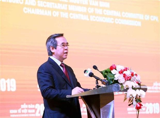 2019年越南经济论坛:积极主动应对气候变化和确保能源安全 hinh anh 1