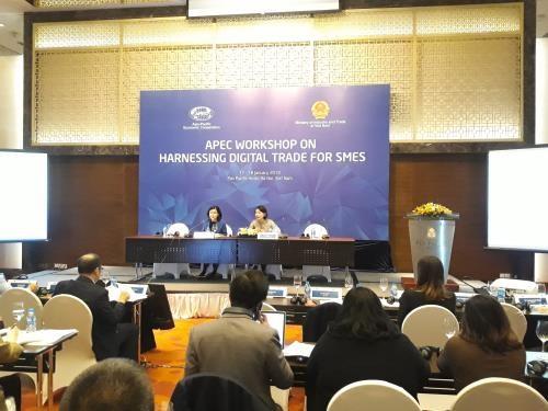 数字化商务是协助中小企业进入国际市场的重要工具 hinh anh 1