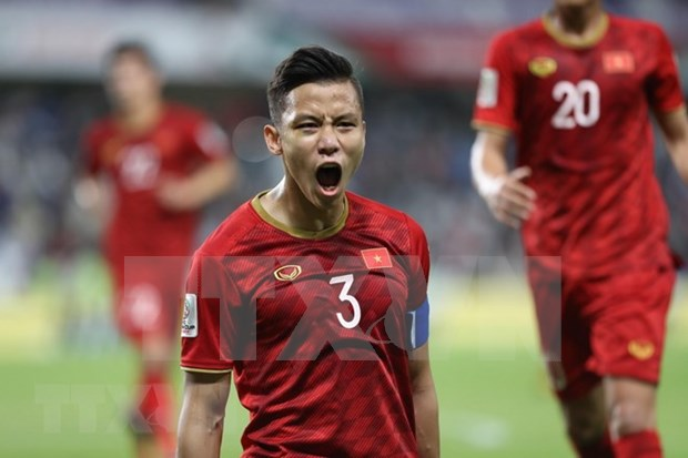 ASIAN CUP 2019: 越南队晋级2019年亚洲杯16强淘汰赛 hinh anh 1