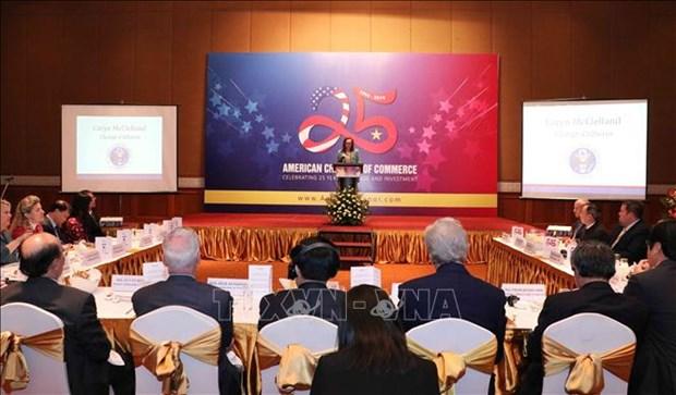 进一步促进越南与美国经济合作 hinh anh 1
