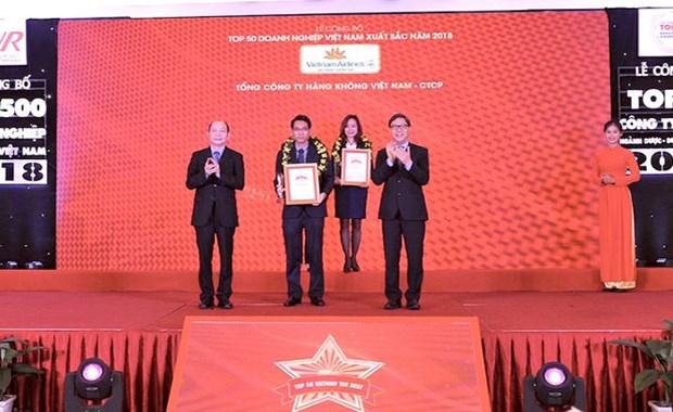 越航连续三年跻身越南上市公司50强榜单前十名 hinh anh 1