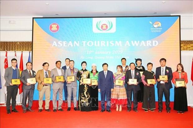 2019年东盟旅游论坛:越南获得15项东盟旅游奖 hinh anh 1