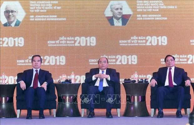 阮春福总理:越南完全可以实现经济稳步快速增长目标 hinh anh 1