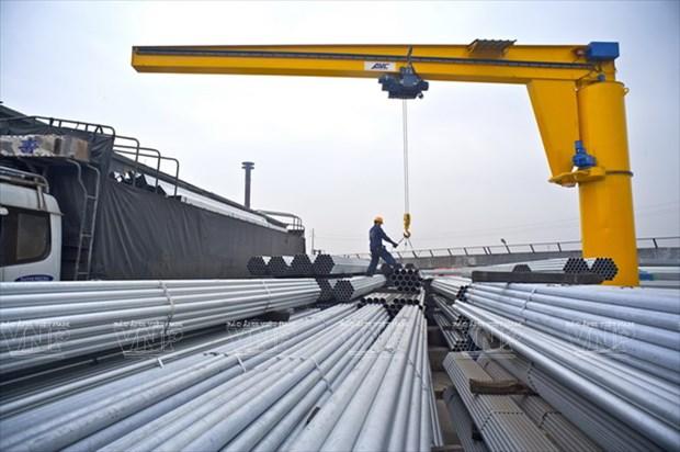 越南和发集团钢材出口量增幅高达50%以上 hinh anh 1